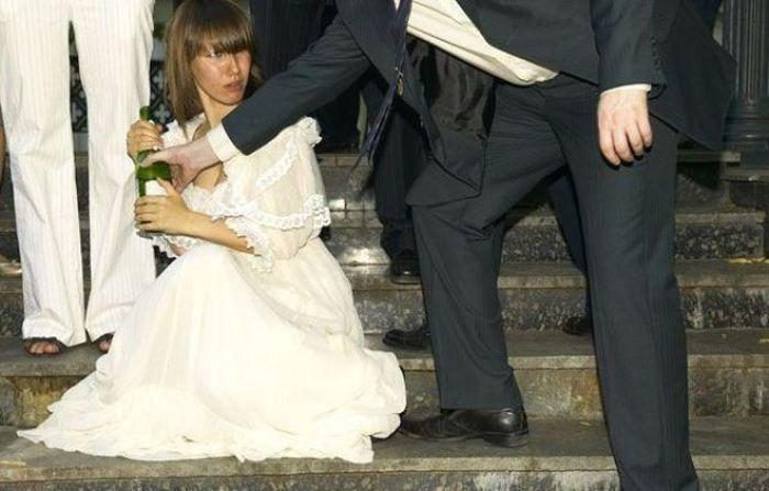 Пьяные девушки фото невесты