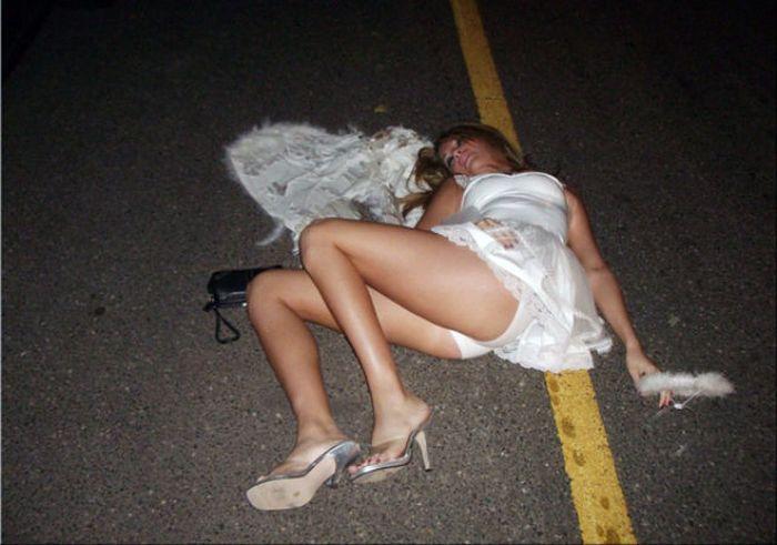 фотоприколы с пьяными девушками:
