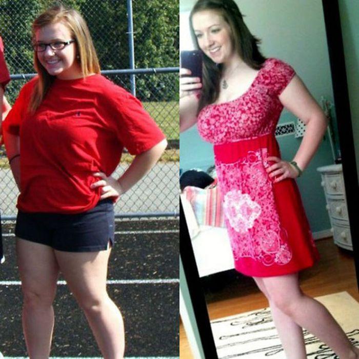 Русские девушки похудели фото