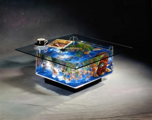 Необычный дизайн аквариумов (29 шт)