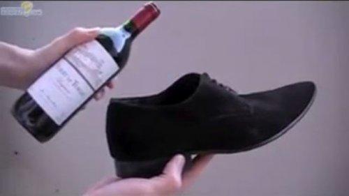 Как открыть вино без штопора
