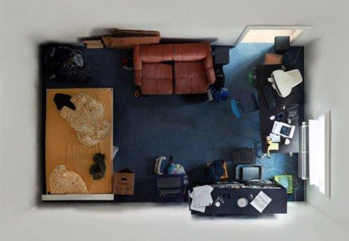Комнаты: вид сверху