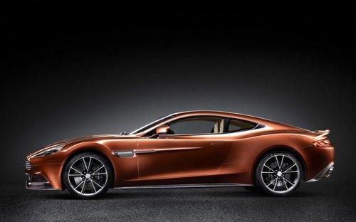 Новый Aston Martin Vanquish