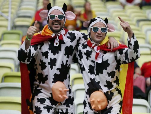 Самые горячие фанаты Евро-2012