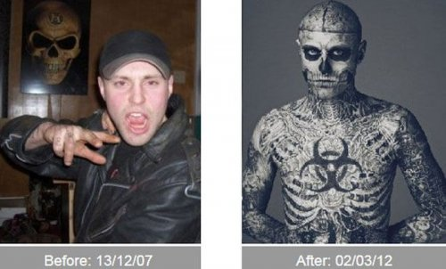 До и после трансформации (21 фото)