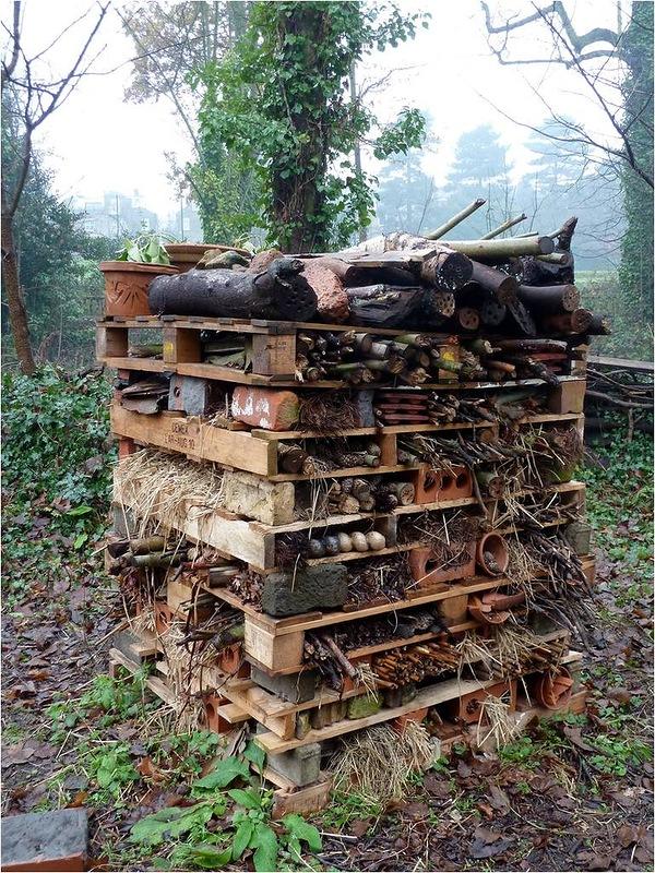 Домики для диких пчел своими руками 16