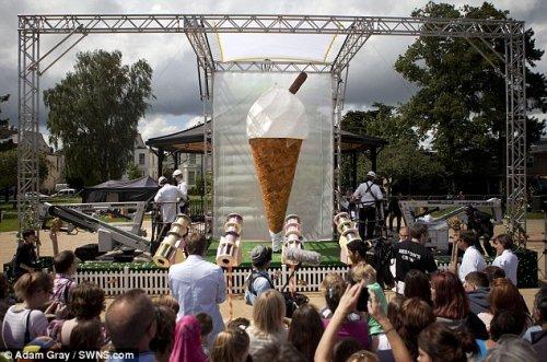 Самое большое мороженое в мире
