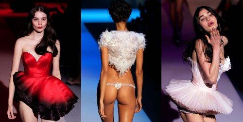 Провокационная неделя моды в Париже
