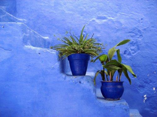 Шефшауен - голубой город