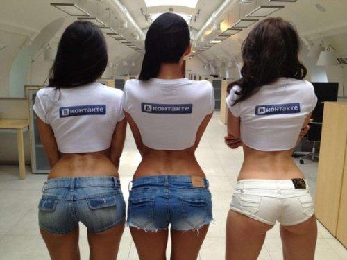 Встреча пользователей «ВКонтакте» и фотосессия топ-моделей