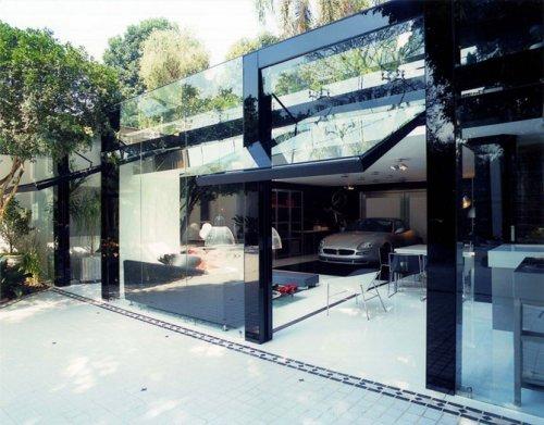 Современный дизайн гаража