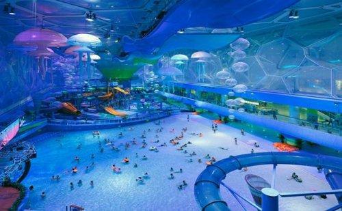 Caмые необычные аквапарки