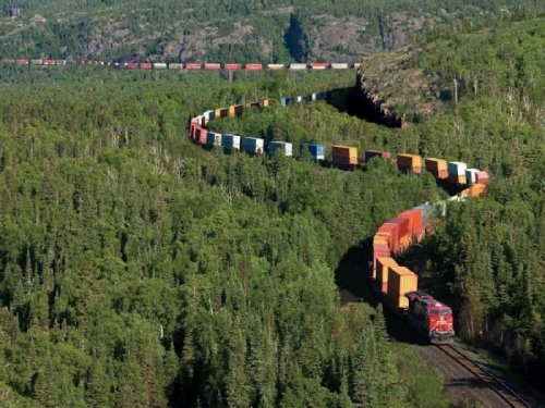 Канадская Тихоокеанская железная дорога