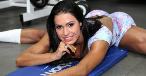 Бразильская дива Gracyanne Barbosa
