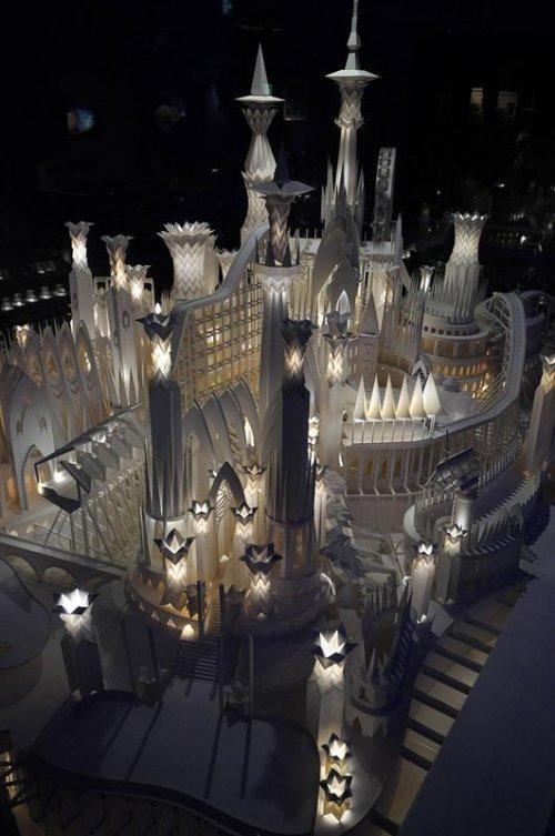 Уникальный бумажный замок