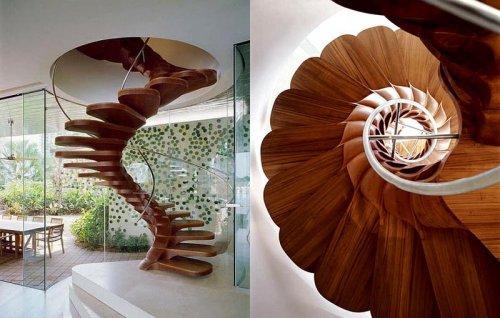 Лестницы с уникальным дизайном