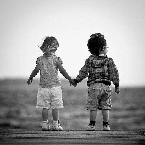 черно-белые фото влюбленные