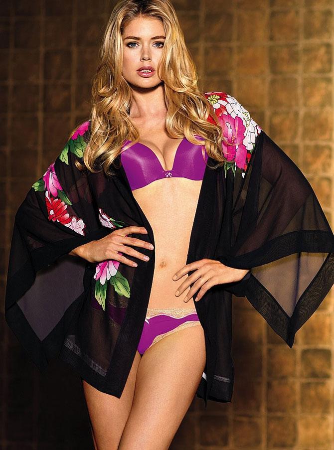 Даутцен Крез в нижнем белье Victoria s Secret 4fed92effee