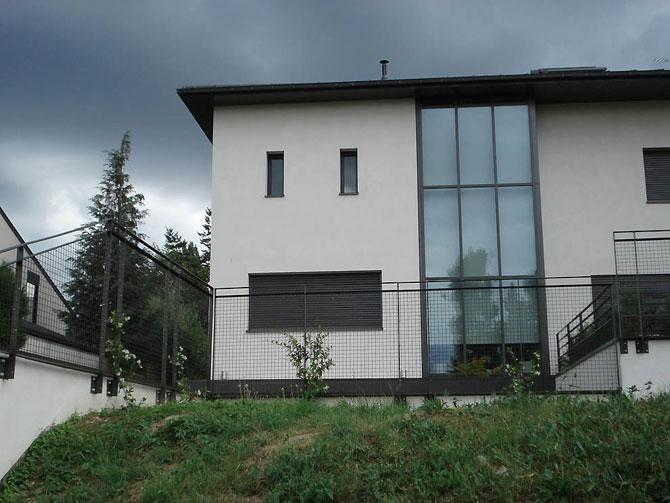 Оригинальные фасады домов фото