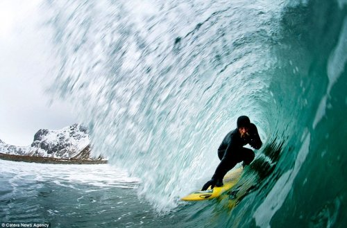 Арктический серфинг