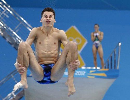 Смешные выражения лиц спортсменов