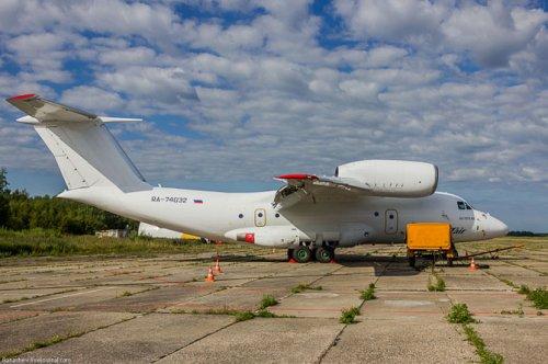 Экскурсия по самолету АН-74