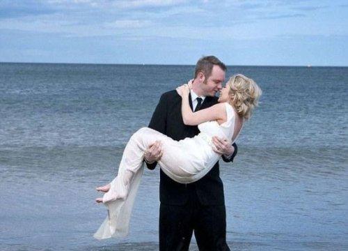 Казус во время свадебной фотосессии