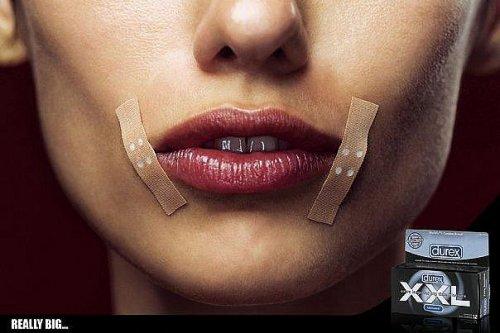 Очень сексуальная реклама