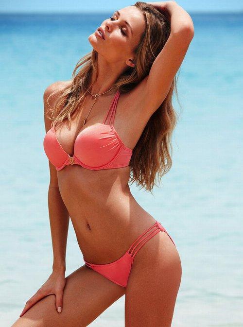 Эдита Вилкевичуте в фотосессии для Victoria's Secret