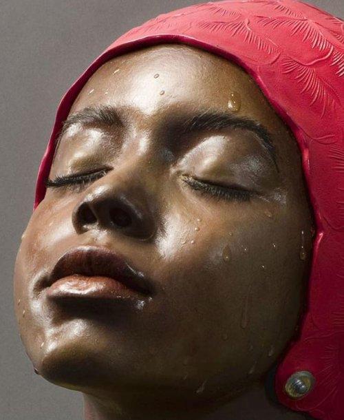 Реалистичные скульптуры от Кэрол Фейерман