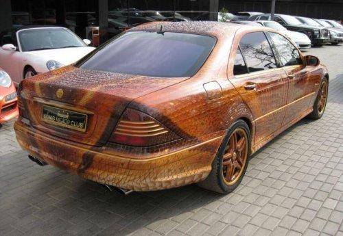 Mercedes с дизайном дракона
