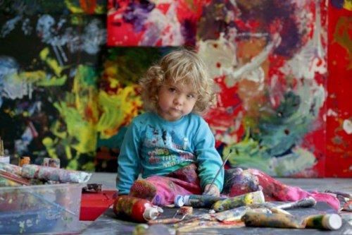 Аэлита Андре - самая юная художница