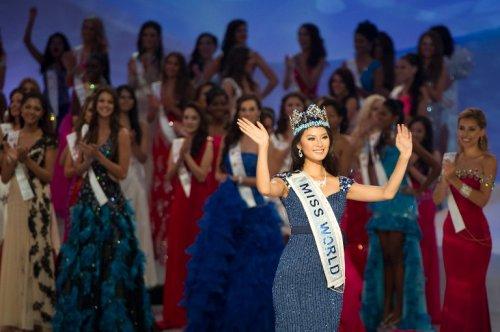 """Победительница конкурса """"Мисс Мира-2012"""""""