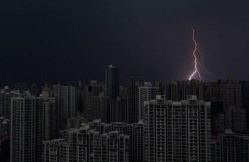 Сила и величие молнии