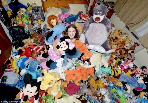В погоне за рекордом по сбору мягких игрушек