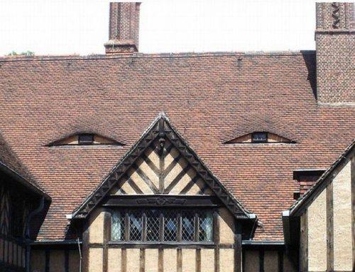Забавные лица домов
