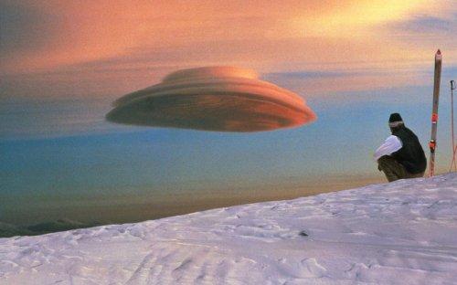 Фотографии облаков необычной формы