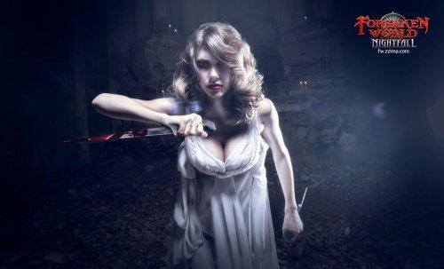 Откровенные фото с вампиршами