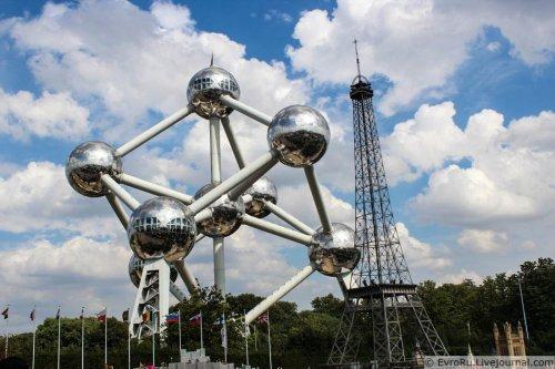 Бельгийская достопримечательность - Атомиум