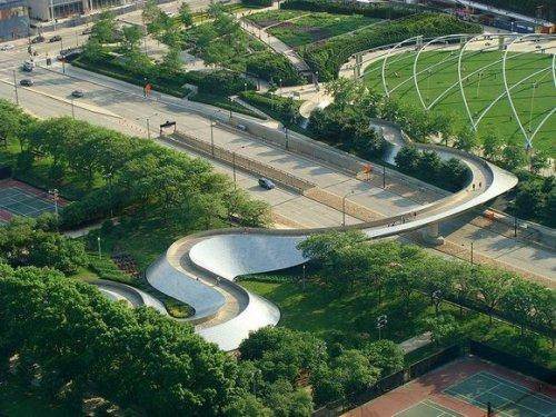 Красивые и Интересные Пешеходные Мосты со всего мира