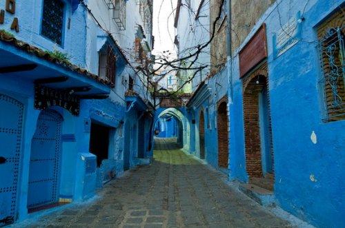 8 Потрясающих Одноцветных Городов Мира