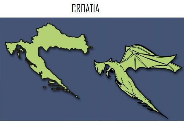 რას მიამსგავსეს ევროპის ქვეყნების რუკები ⚑