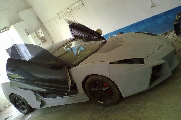 Самодельный Lamborghini от украинского мастера