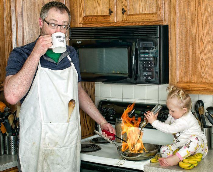 отцы и дочери приколы в картинках кадр
