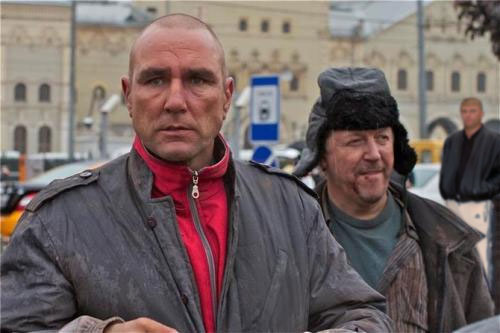 Винни Джонс в Москве