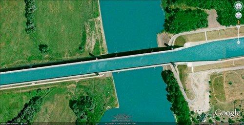 Самые уникальные водные мосты мира