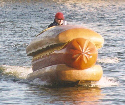 необычные плавательные лодки