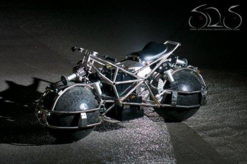 Мотоцикл будущего?