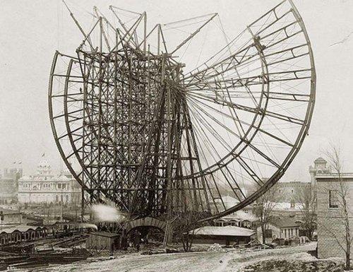 Каким было первое колесо обозрения