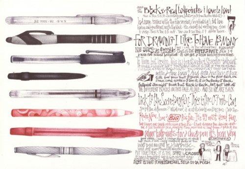 Новые удивительные рисунки шариковой ручкой